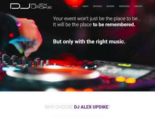 DJ Alex Updike Website